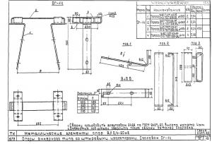 Оголовок ОГ-14 для деревянных опор (альб.3.407-85)