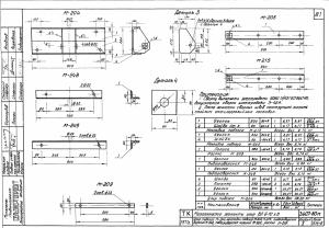 Подтраверсник М-249 (3.407-80М) (L90х7х800)
