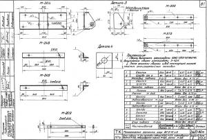 Раскос М-209 (650х60х6) (3.407-80М) - фото