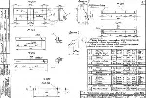 Раскос М-209 (650х60х8) (3.407-80М) - фото