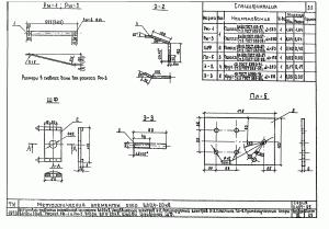 Раскос РМ-3 (650х60х6) (3.407-85)