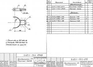 Тросодержатель С71 (3.407.1-175)