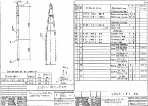Тросостойка С43 (3.407.1-175.2) - фото