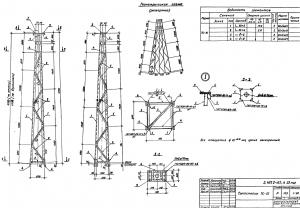 Тросостойка ТС-21 (3.407.2-162.4)