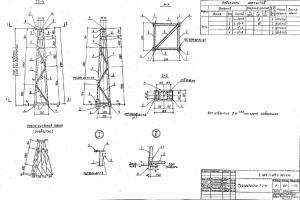 Тросостойка ТС-4 (3.407.1-137.2)