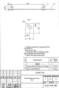 Заземляющий проводник ЗП-6 (1м) (25.0017)
