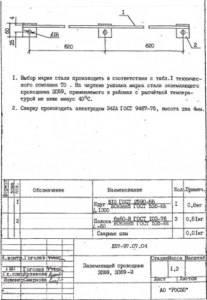 Заземляющий проводник ЗП-69 (Л57-97)